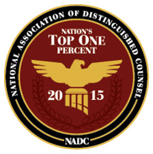 Dennis H. Black selected as Nation's Top One Percent by the National Association of Distinguished Counsel